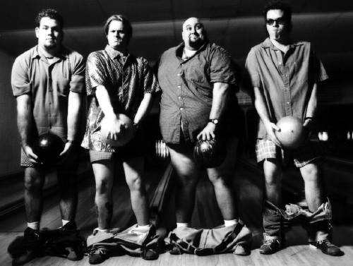 Someone, somewhere should've talked Bowling for Soup out of using this as their promo shot.