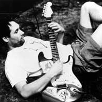 """Bunkbed Boys guitarist """"Lazy"""" Eric had seen other guitarists fall to the ground and keep playing while writhing about on the floor, but he always was kind of a lazy fuck."""