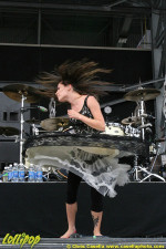 Flyleaf - Rock on the Range Columbus, OH May 2009 | Photos by Chris Casella