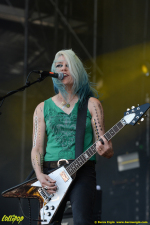 L7 - Hellfest Clisson, France June 2018 | Photos by Burcu Ergin
