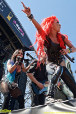 Butcher Babies - Hellfest Clisson, France June 2015 | Photos by Bruno Colliot