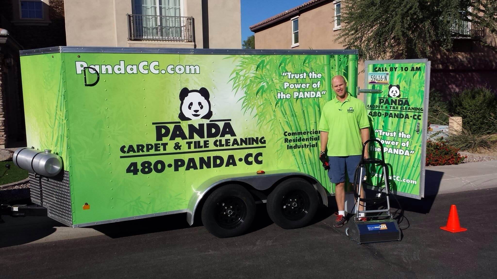 PANDA Carpet and Tile Cleaning Video Testimonials
