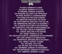 St Vitus / Mos Generator - Euro Tour 2013