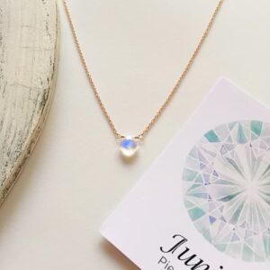 Piedra Luna, Brioletta joyería artesanal con gemas