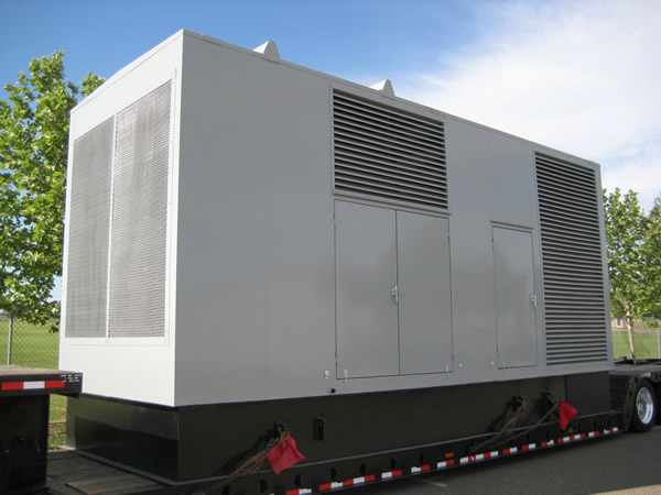 2000 KW Genset. Custom manufactured at our facility.
