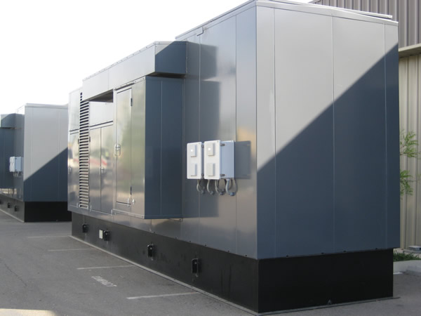 1500 KW systems manufactured per customer's specifications