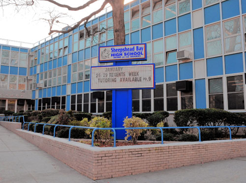 New Visions Charter High School for Advance Mathematics III is located here.