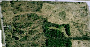 Google Earth™. The image dated March 31, 2005
