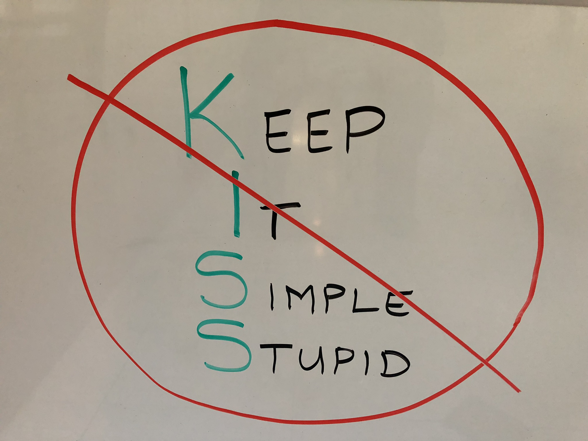 The SIC Principle for Making IT Happen