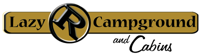 Lazy R Campground & Cabins Logo