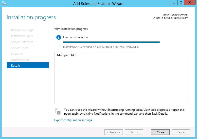 Microsoft Windows Server 2012 - Multipath IO Configuration - 10