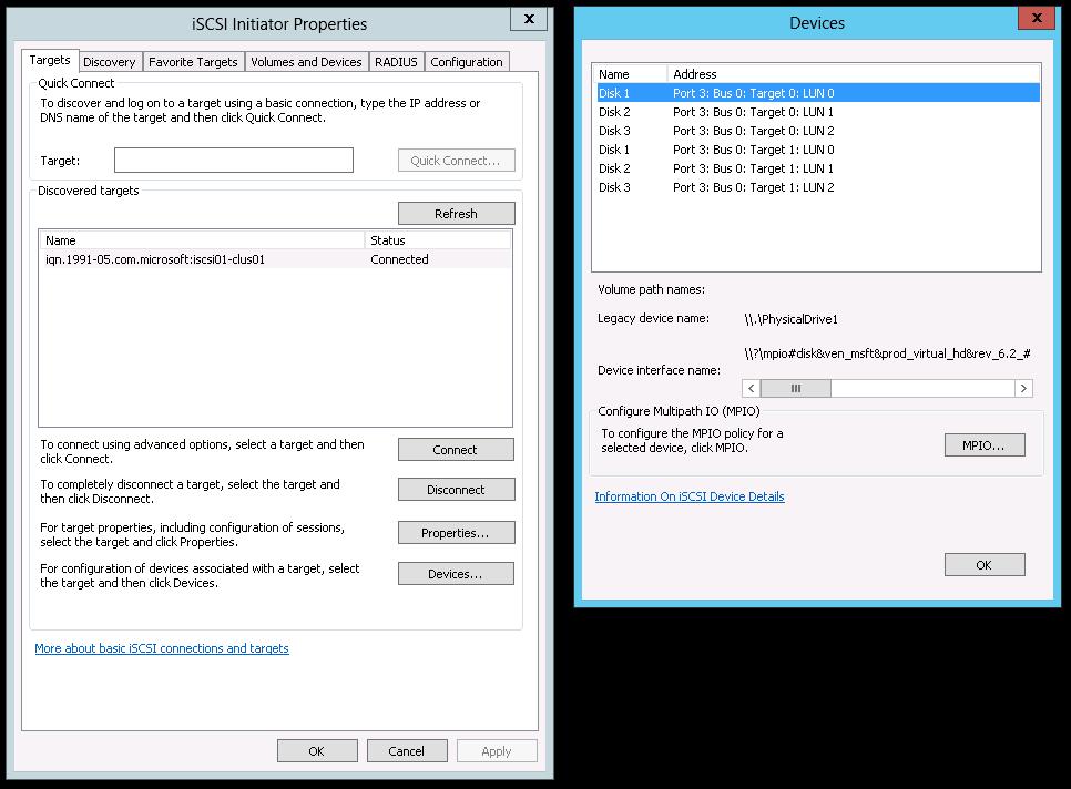 Microsoft Windows Server 2012 - Multipath IO Configuration - 20