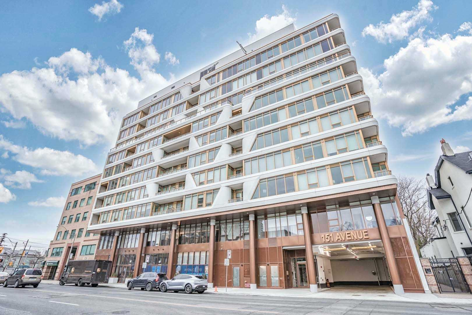 Read more about the article 151 Avenue Road West 1 Bedroom + Den New Ready To Move-In $918,000
