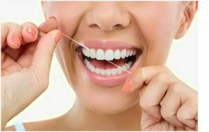 teeth extraction vs flossing by prosthodontist