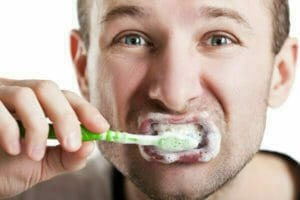 don't over brush your teeth to protect your teeth enamel