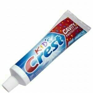 children's fluoride toothpaste