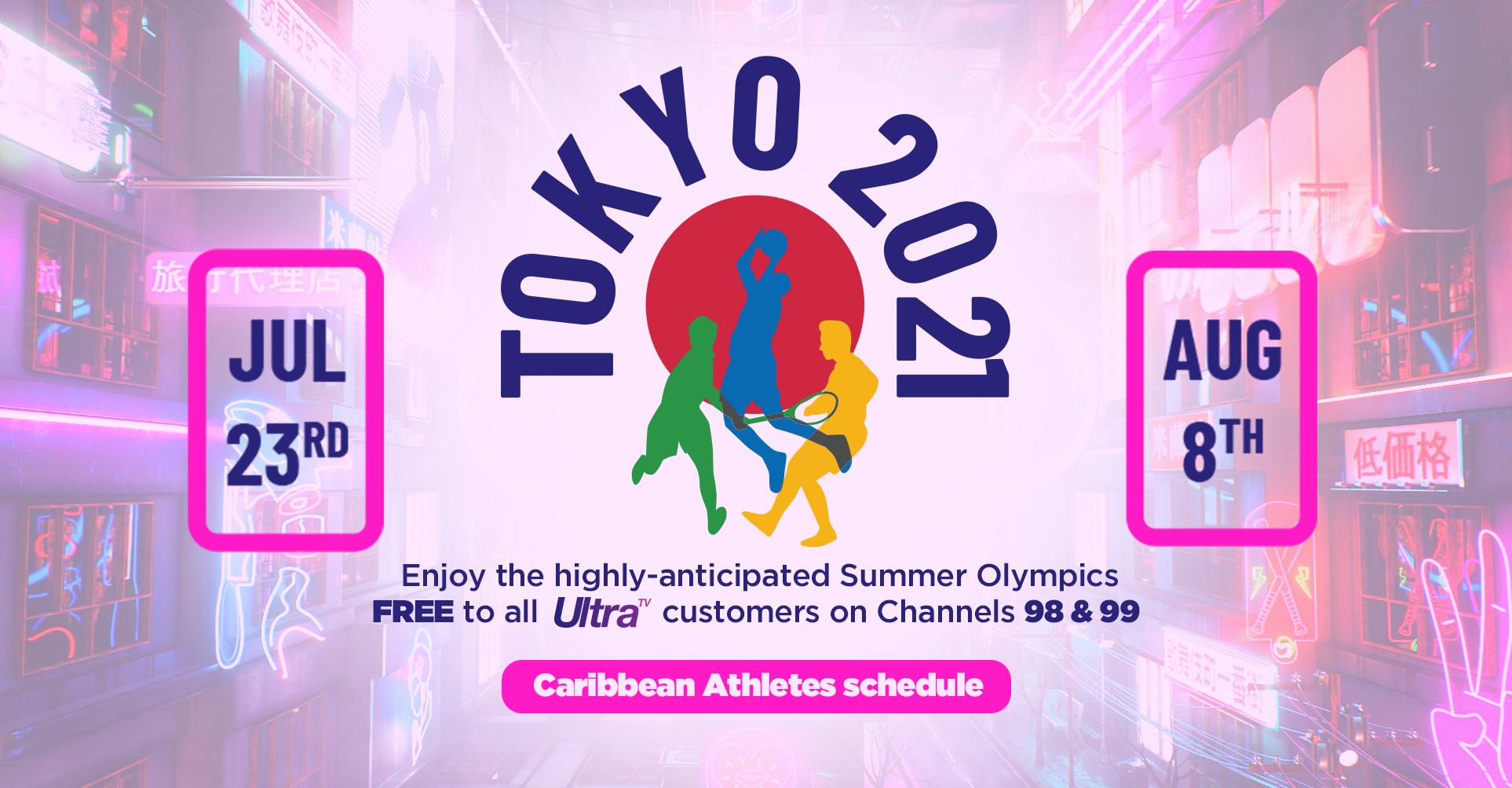 Tokyo 2020 Olympics Schedule