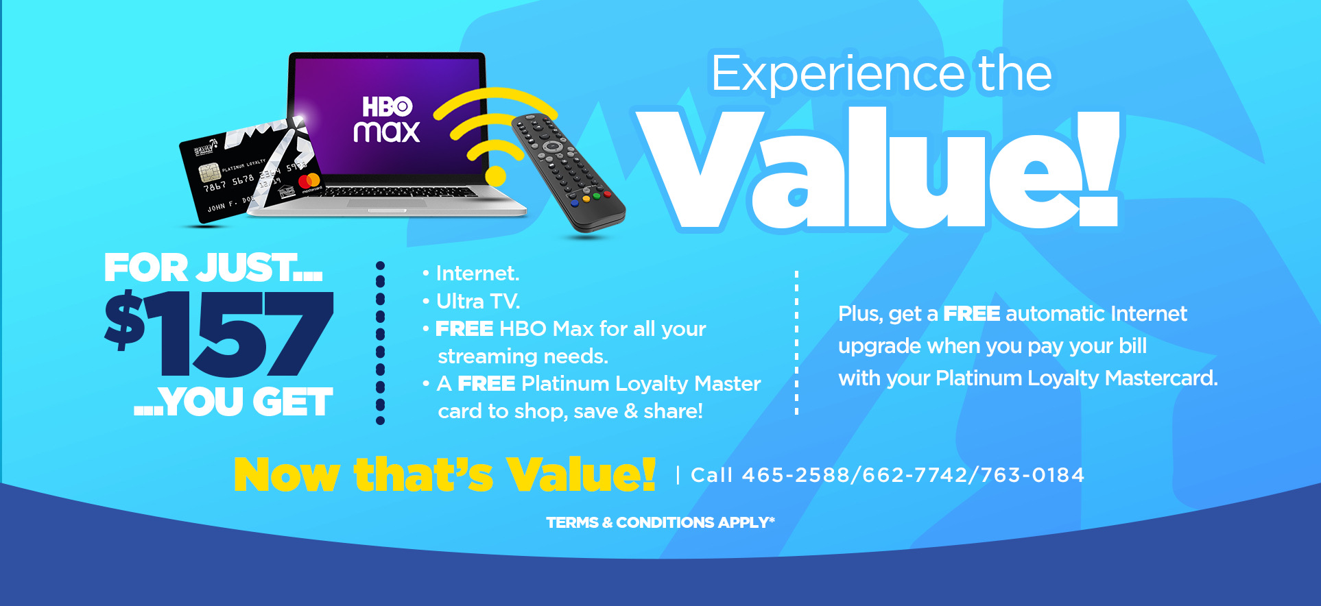 Experience the Value