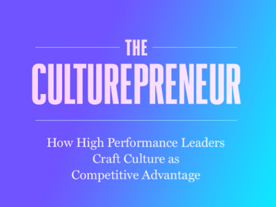 Why Leaders Need to Make Corporate Culture the Centre of Corporate Strategy