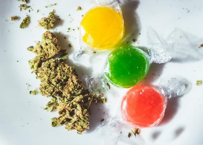 Marijuana infused hard candies
