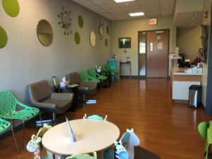 Inside View of Alzein Pediatric Clinic in Oak Lawn