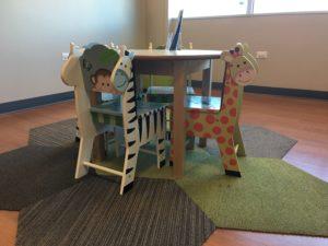 Kids Sitting in Alzein Pediatric in Oak Lawn