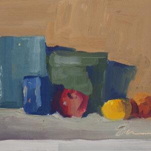 Study, Still Life ala Morandi by Erin Lee Gafill