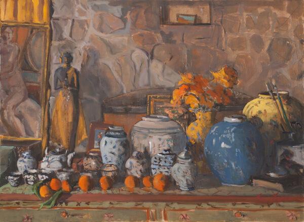 Studio Still Life by Erin Lee Gafill