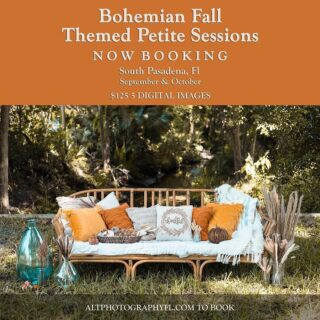 This weekend! We have a few evening sessions available Sunday.  $95 for up to 2 subjects $125 for up to 4 subjects   South Pasadena  Link in bio to book or dm us   Couples, families, and pets!  Saturday sessions sold out . . . . #minisession #fallsession #fall #boho #bohomini #stpeteminisession #stpetefallsession #stpetephotographer #familyphotographer #fallcoupleseasion #couplesession #bohemianfall #fallboho #southpasadena #pycc #snellisleliving #pyccresidents #gulfportphotographer #babyphotographer #maternity #stpetematernity #genderreveal #pregnancyreveal