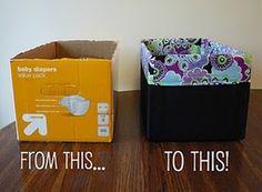 upcycled box