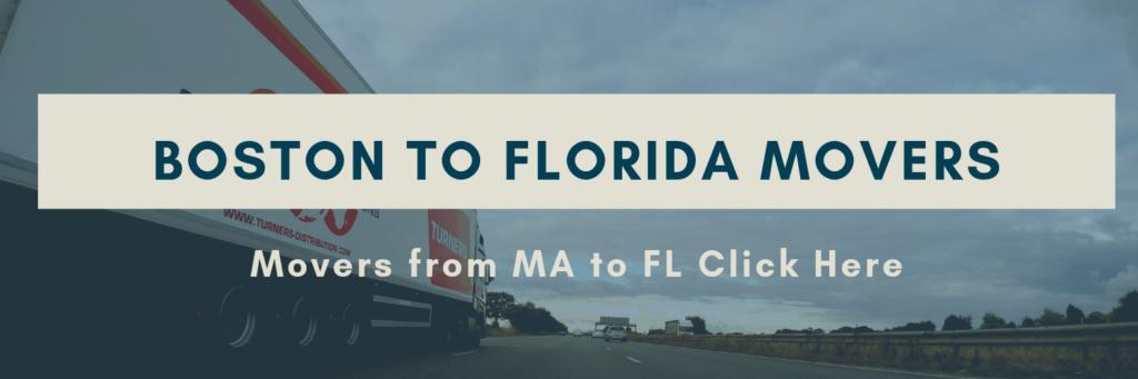Movers Boston to Florida