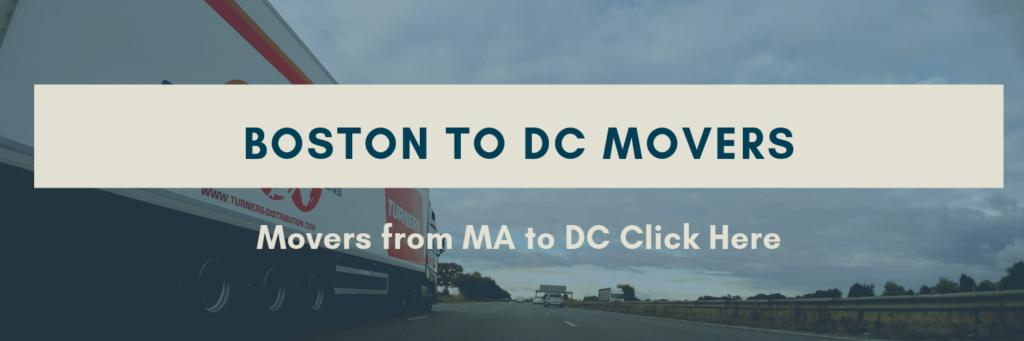 Movers Boston to DC