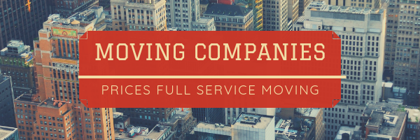 Full Service Moving Prices