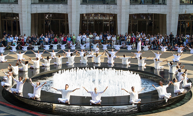 Table of Silence, an annual 9/11 Commemoration in NYC. Photo: Terri Gold