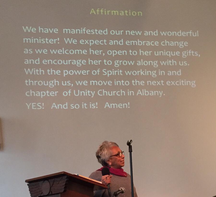 affirmation-new-minister