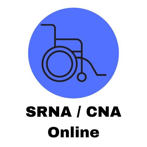 State Registered Nurse Aide: Online