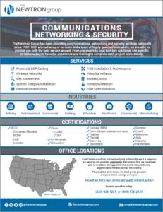 Triad Communications Brochure