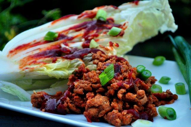 Spicy Red Chili Turkey & Napa Cabbage