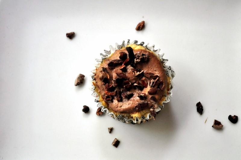 Paleoish Vanilla Greek Yogurt Protein Cupcakes