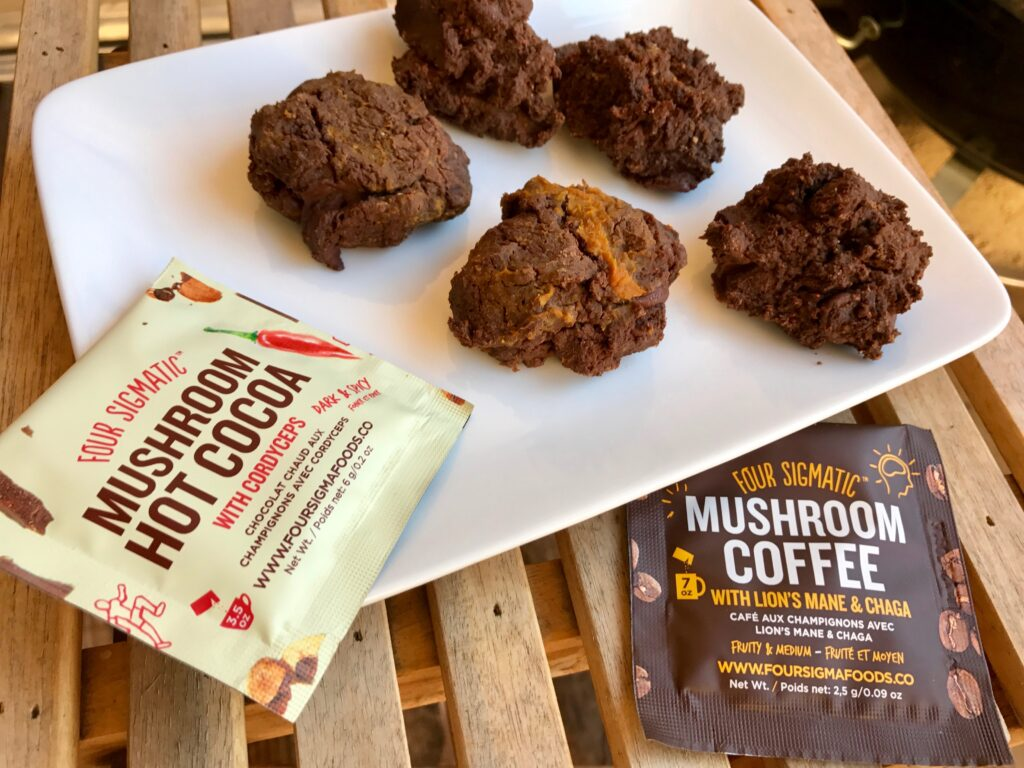 Dark & Hot Chocolate Protein Cookies -whatrunslori.com