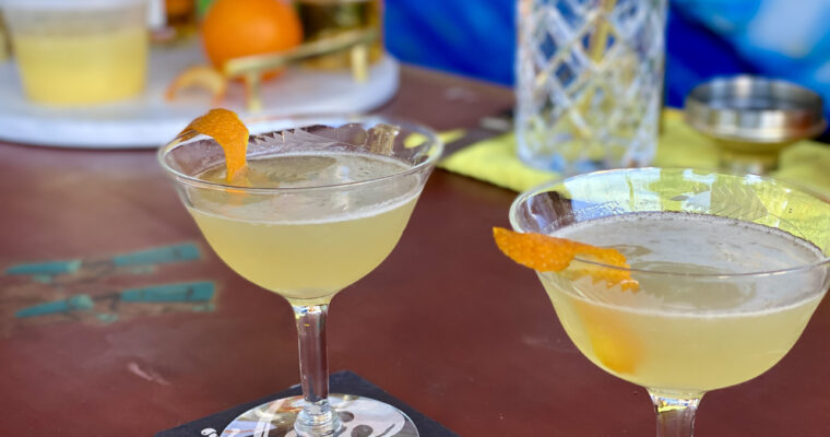 Cognac + Lemon: The Sidecar & Chilli Lemon Couscous