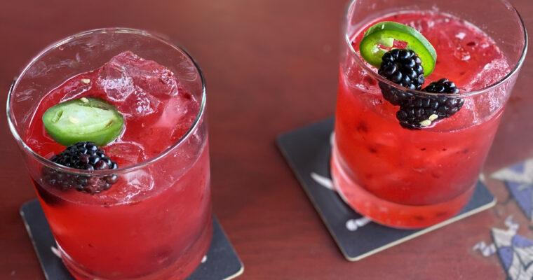 The Spicy Blackberry Margarita