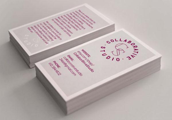 Collaborative Studio Logo, Business card, Etsy Shop
