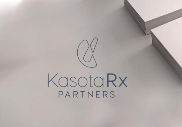 Kasota Rx Partners logo and business card