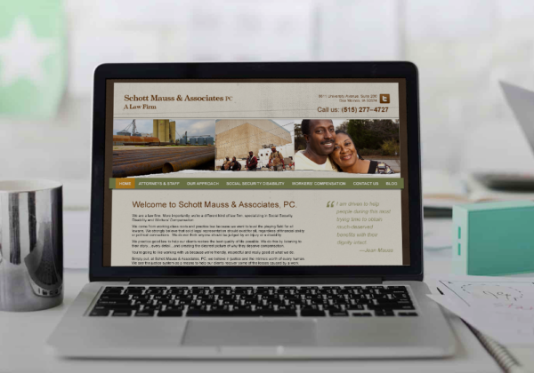 Schott Mausse & Associates Website Design + HTML