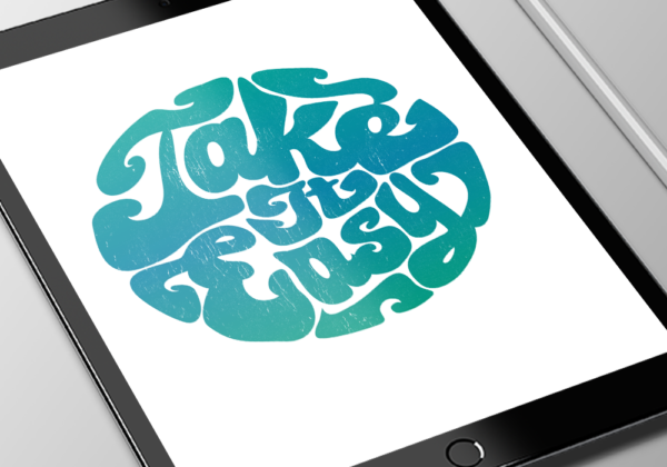"""Retro Design for """"Take It Easy"""" Apparel and Merchandise"""