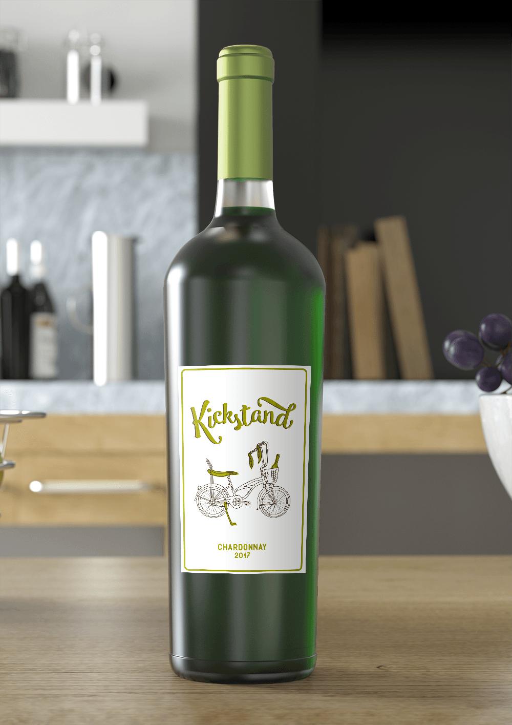 chardonnay full bottle
