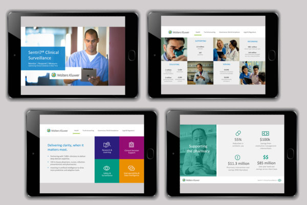 Wolters Kluwer Print and Digital Marketing Materials