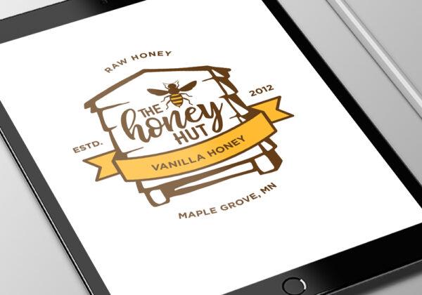 The Honey Hut logo
