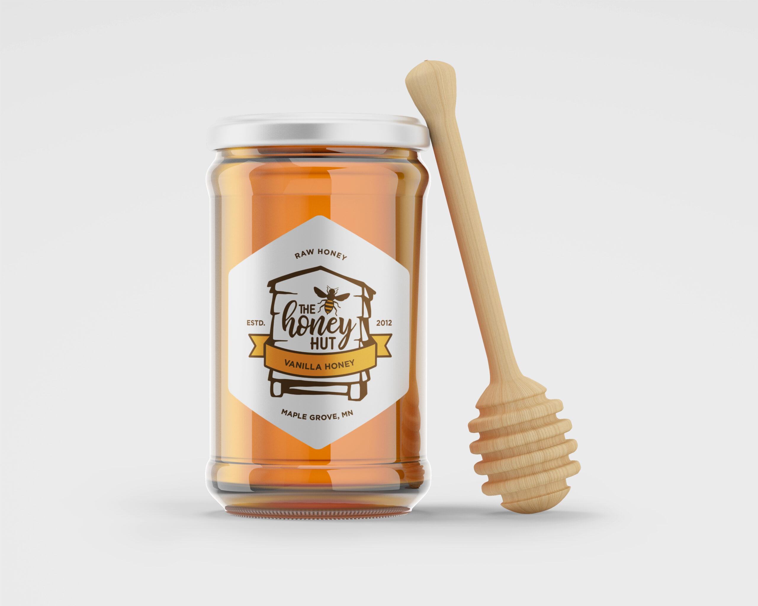 Honey Hut jar-01
